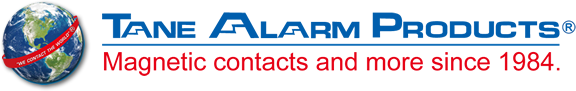 Tane Alarm Products: Magnetic contacts and more since 1984