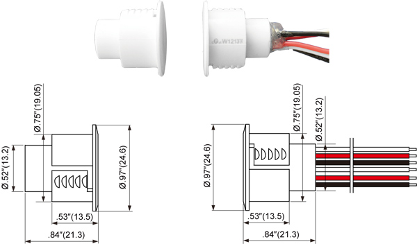 Door Contacts Wiring  U0026 Recessed Magnetic Contact Sc 1 St
