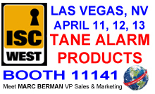 ISC West, Las Vegas, NV. April 11-13, 2018. Booth #11141